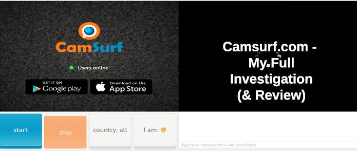 Camsurf screenshot