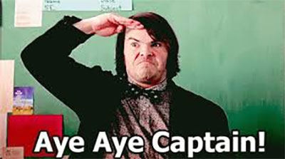 Aye Aye Captain gif